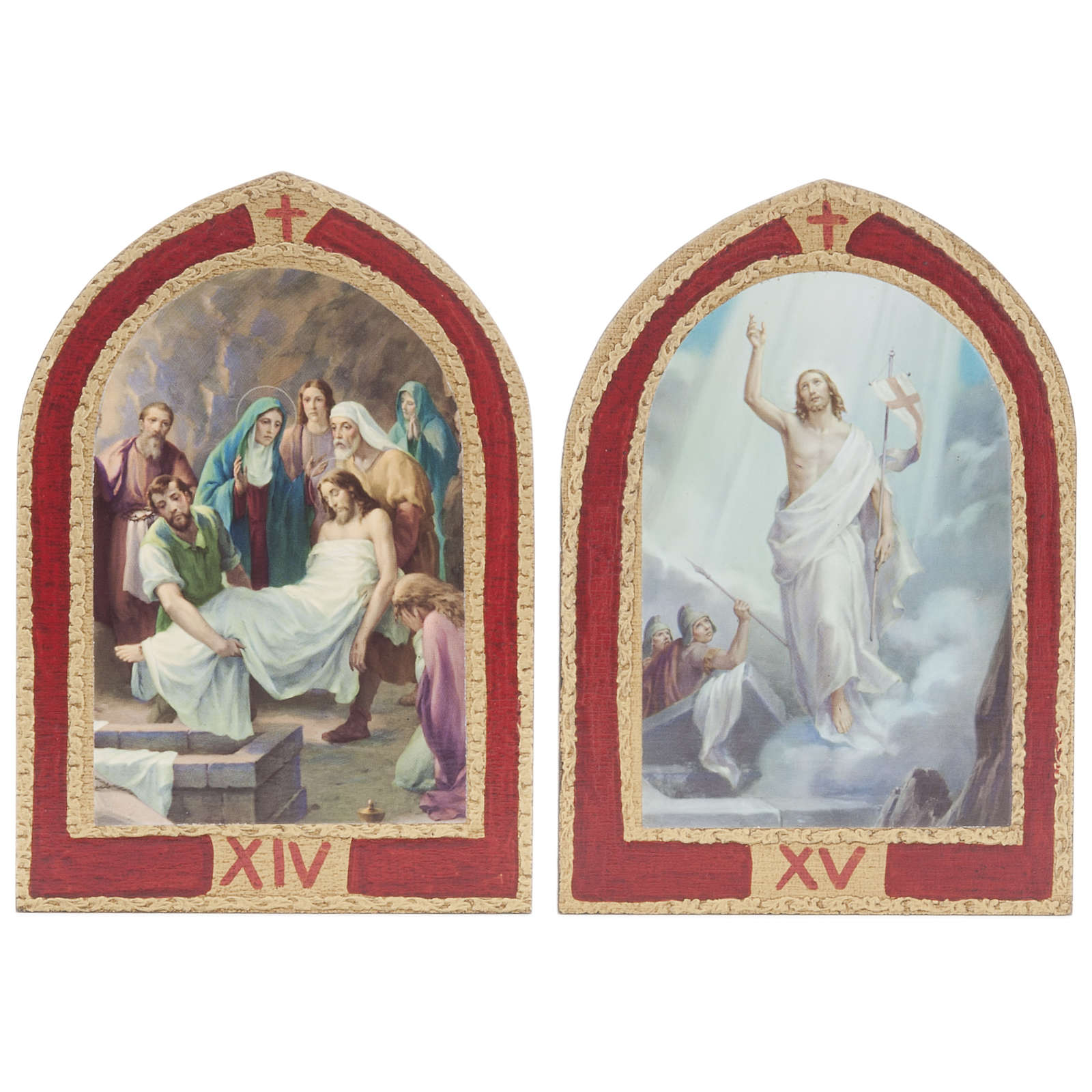 Via Sacra quadros janela catedral madeira 15 estações 4