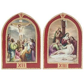 Via Sacra quadros janela catedral madeira 15 estações s9