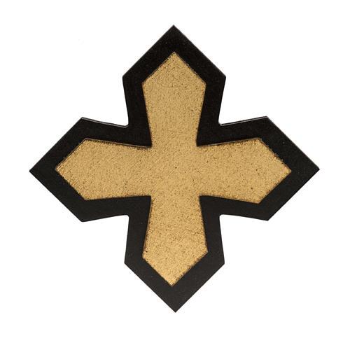 Vía Crucis 14 estaciones en 2 tablas madera 6