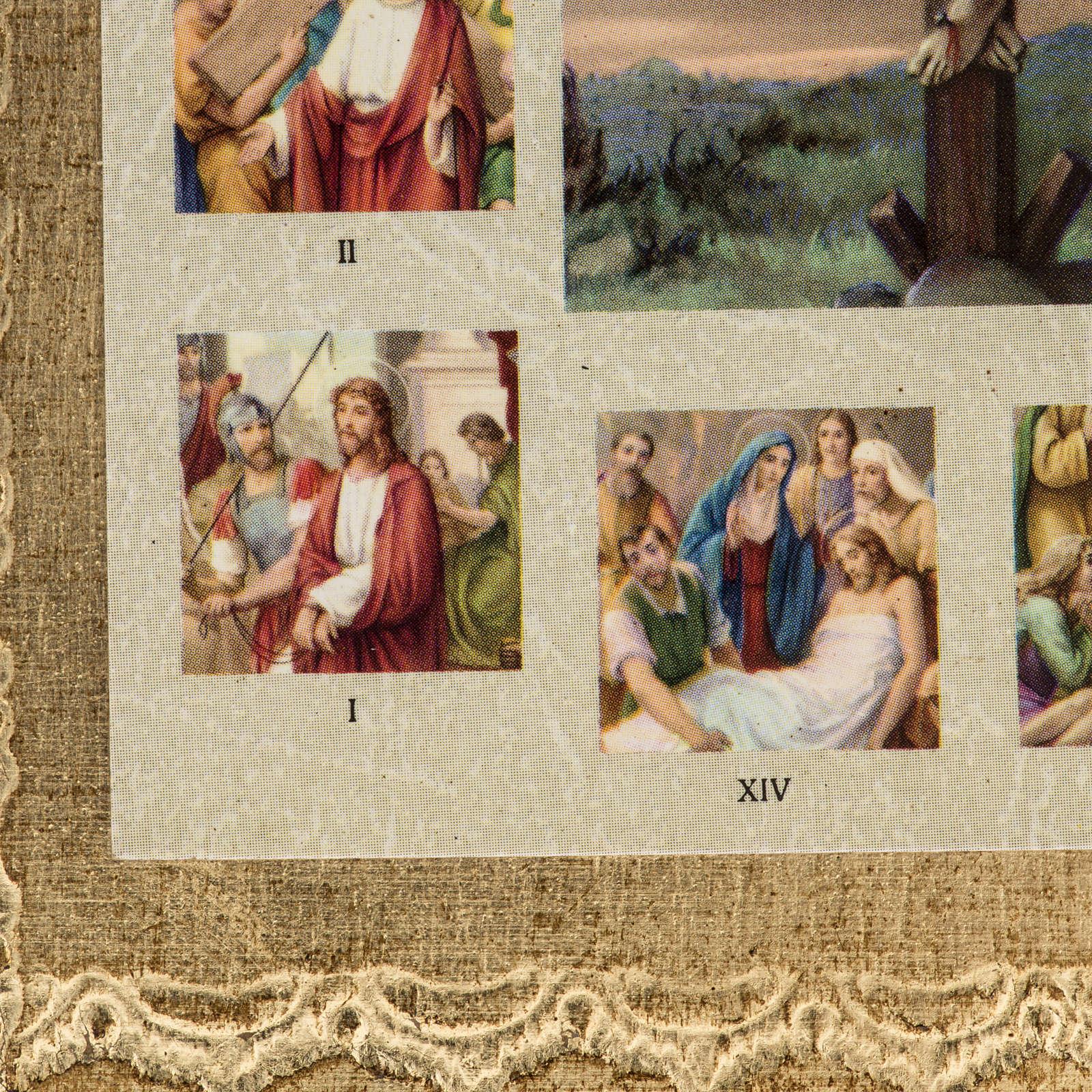 Kreuzweg Bild mit Kreuzigung 4