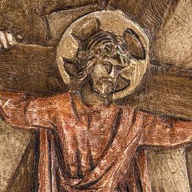 II stazione Via Crucis pietra Bethléem s2