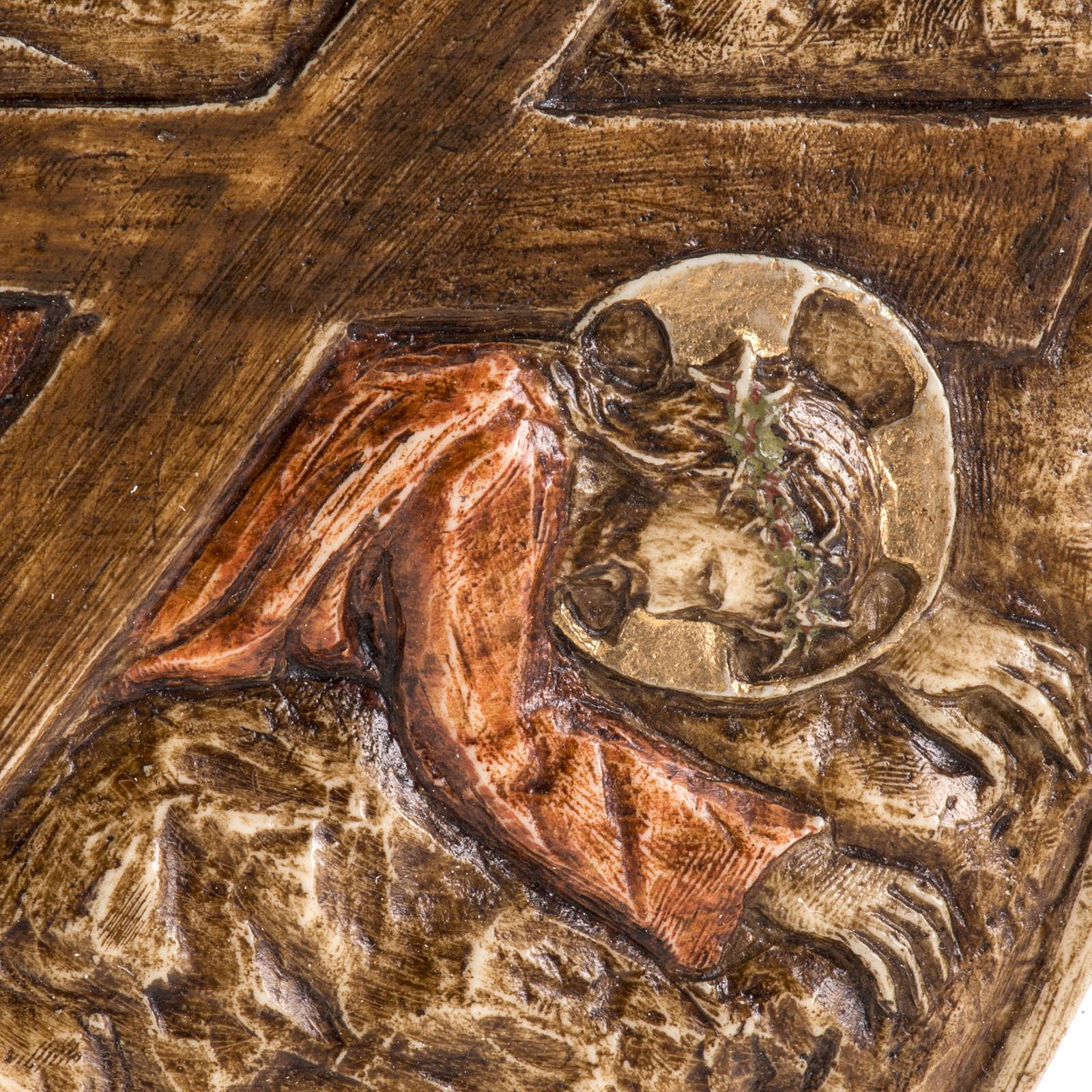 IX stazione Via Crucis pietra Bethléem 4