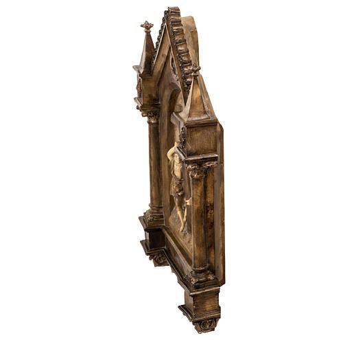Via Crucis 15 stazioni 63x39 cm pasta di legno 10