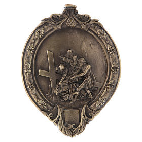 14 Stations of the cross wood paste and bronze s8