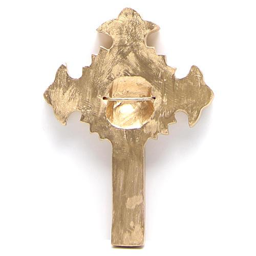 Vía Crucis 15 estaciones clásica en relieve pasta de madera 21