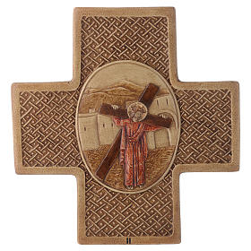 Stations of the cross in stone 22,5cm by Bethleem, 15 stations s2