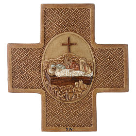 Stations of the cross in stone 22,5cm by Bethleem, 15 stations s14