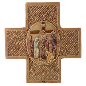Stations of the cross in stone 22.5cm by Bethleem, 15 stations s13