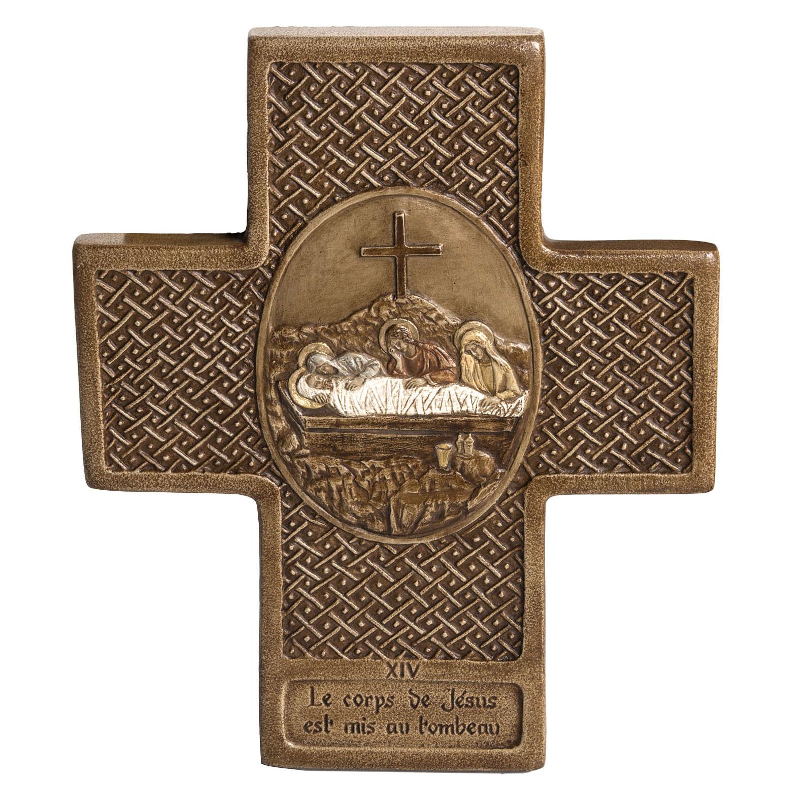 Way of the Cross in Stone cross shaped by Bethleem 4