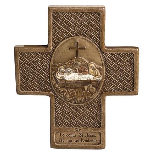 Way of the Cross in Stone cross shaped by Bethleem 2