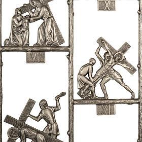 Via Crucis ottone unico pezzo 14 stazioni s3