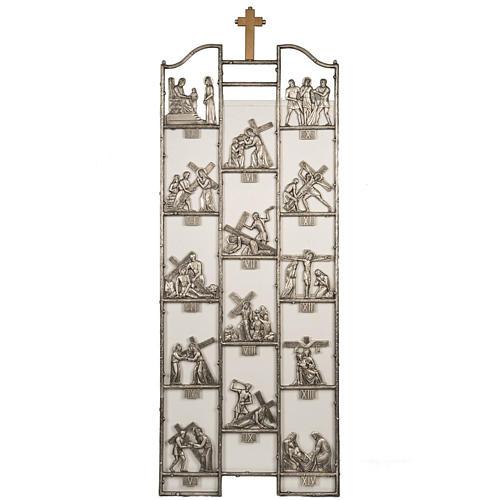 Via Crucis ottone unico pezzo 14 stazioni 1