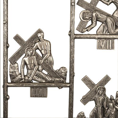 Via Crucis ottone unico pezzo 14 stazioni 4