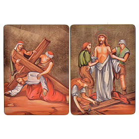 Way of the cross, 15stations in wood s7