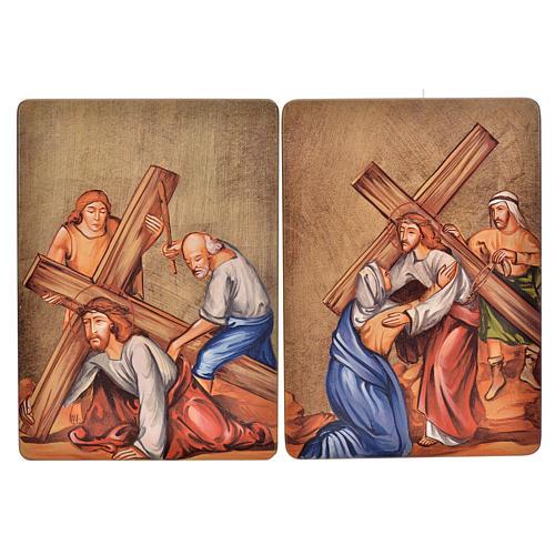 Via Crucis, 15 stations in wood 4