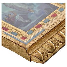 Via Crucis 15 stazioni Altarini stampa su legno 30x19 cm s12