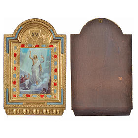 Way of the Cross, altars with print on wood 30x19cm 15 stations s22
