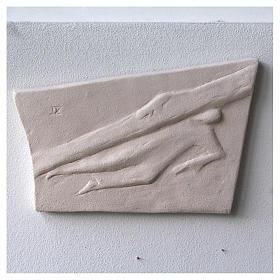 Vía Crucis cuadros irregulares 20x294 cm arcilla Centro Ave s9