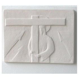Vía Crucis cuadros regulares 34x25 cm arcilla Centro Ave 15 estaciones s5