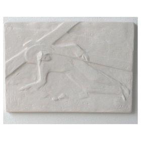Vía Crucis cuadros regulares 34x25 cm arcilla Centro Ave 15 estaciones s12