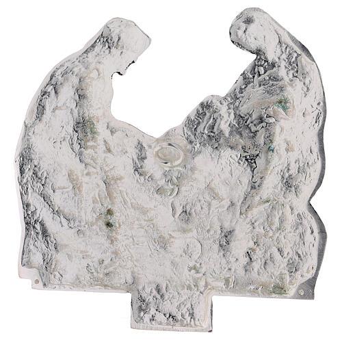 Vía Crucis 15 estaciones latón fundido 17 x 20 cm 16