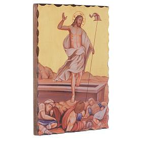 Via Crucis cuadros serigrafiados 30x20 cm de madera s16