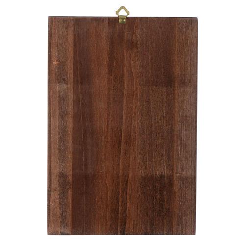 Via Crucis quadretti serigrafati 30x20 cm legno 17