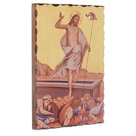 Droga Krzyżowa obrazy serigrafowane 30x20 cm drewno s16