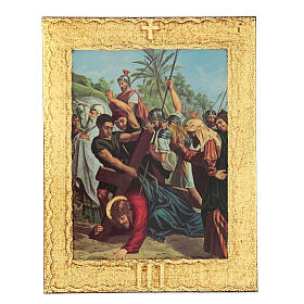 STOCK Way of the Cross 15 stations printed on wood s3