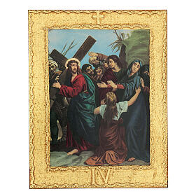STOCK Way of the Cross 15 stations printed on wood s4