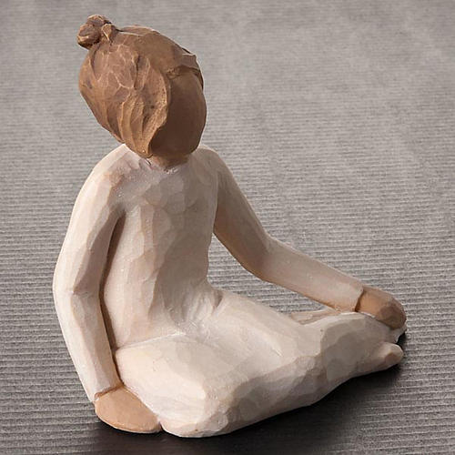 Willow Tree - Thoughtful Child (bimba pensierosa) 3