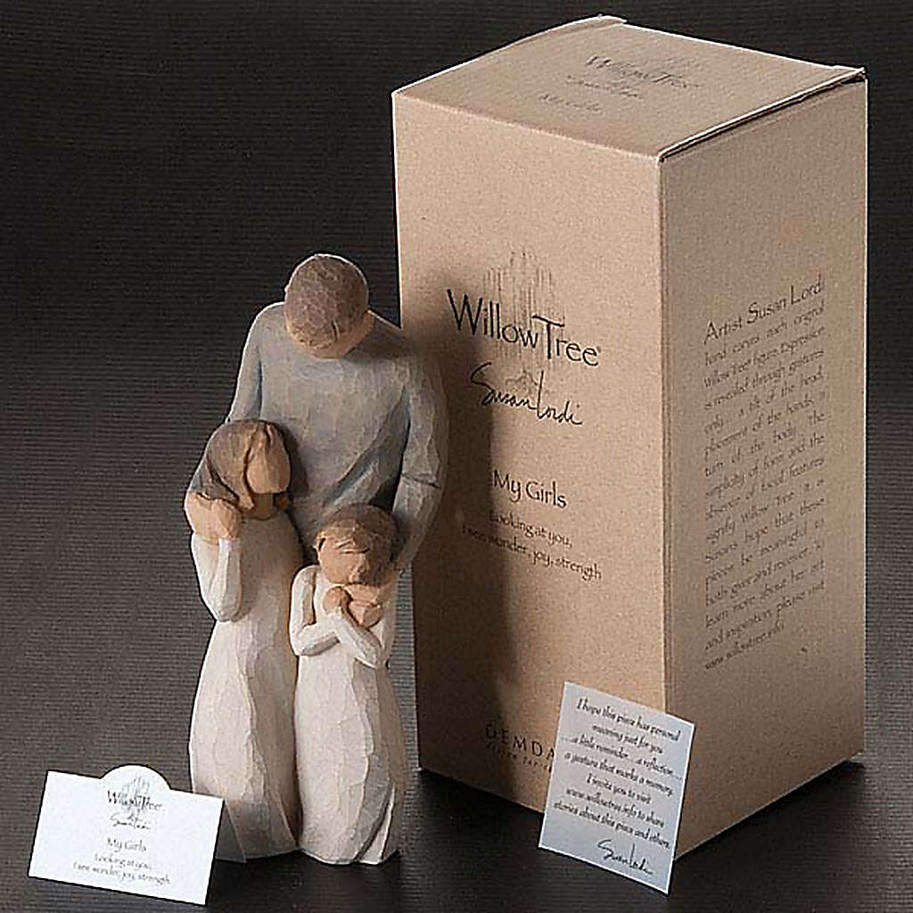 Willow Tree - My girls (le mie bambine) 4