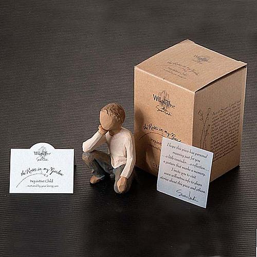 Willow Tree - Inquisitive Child (bimbo curioso) 5