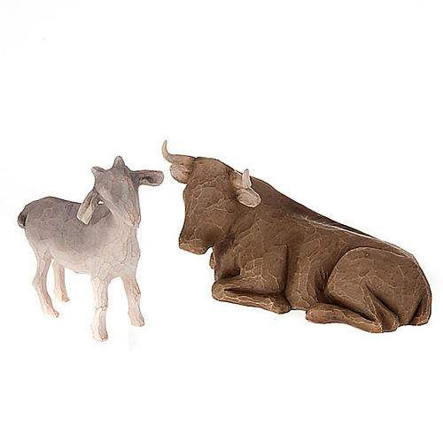 Willow Tree - Ox and Goat 1