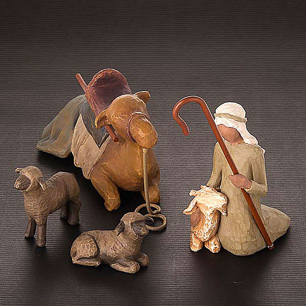 Willow Tree - Stepherd and Stable animals (pastore con animali) 4