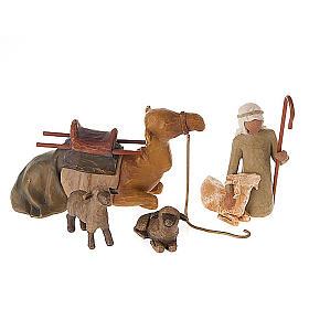 Willow Tree - Stepherd and Stable animals (pastore con animali) s1