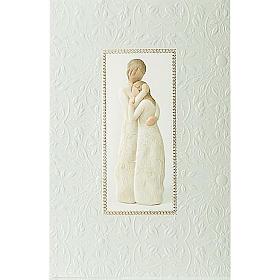 Willow Tree Card - Close to me (abbraccio materno) 21x14 s1