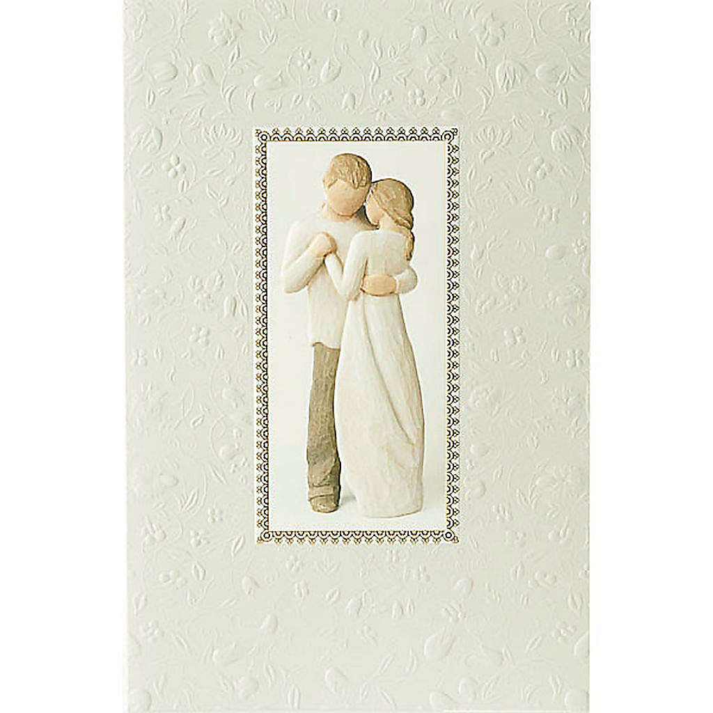 Willow Tree Card - Promise (promessa d'amore) 21x14 4
