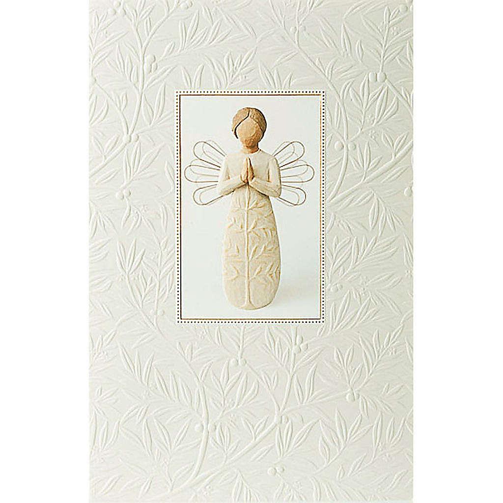 Willow Tree Card- A tree, a prayer (anioł modlący się) 21 X 14 4