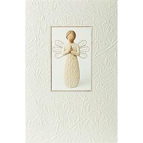 Willow Tree Card- A tree, a prayer (anioł modlący się) 21 X 14 s1