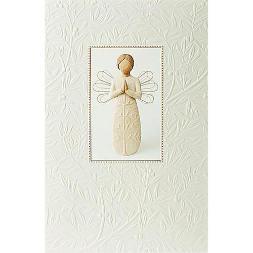 Willow Tree Card- A tree, a prayer (anioł modlący się) 21 X 14 1