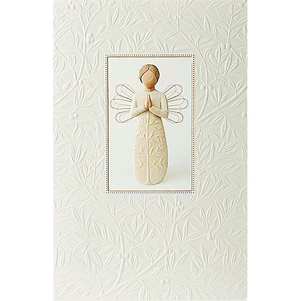 Willow Tree Card - A tree, a prayer 21x14 4