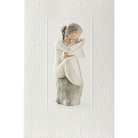 Willow Tree Card - Guardian (madre affettuosa)  21x14 s1