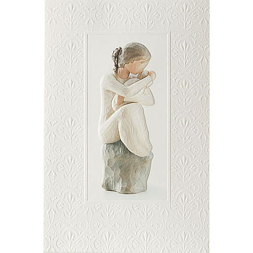 Willow Tree Card - Guardian (madre affettuosa)  21x14 1