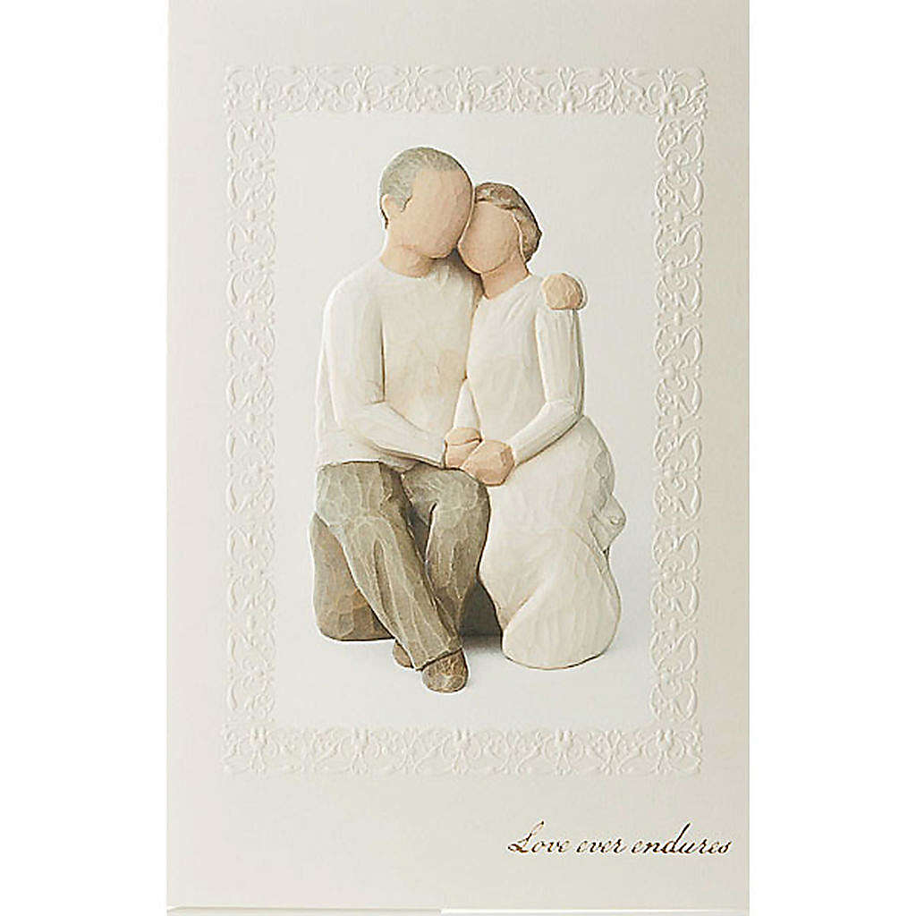 Willow Tree Card Anniversary (anniversario di matrimonio) 21x14 4