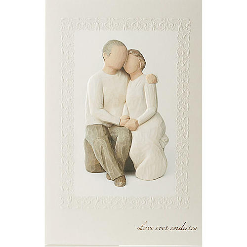 Willow Tree Card Anniversary (anniversario di matrimonio) 21x14 1