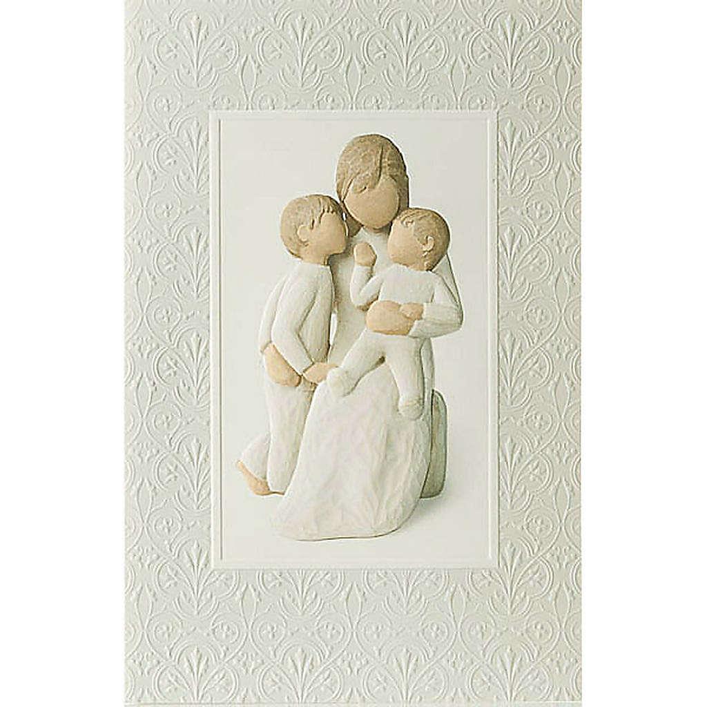 Willow Tree Card- Quietly (uczucie macierzyńskie) 4
