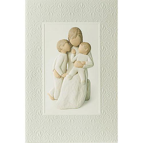 Willow Tree Card- Quietly (uczucie macierzyńskie) 1