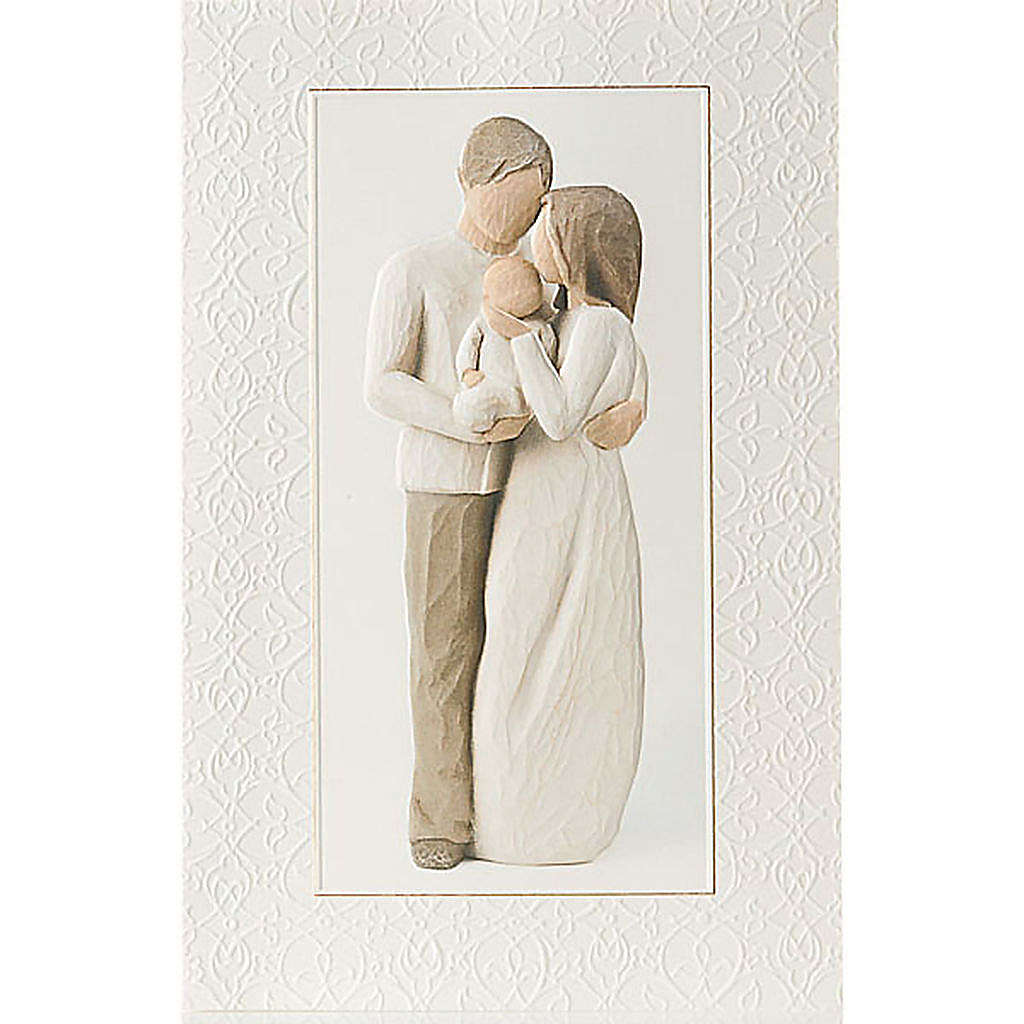 Willow Tree Card - Our Gift (amore famigliare) 21x14 4