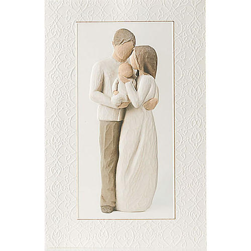 Willow Tree Card - Our Gift (amore famigliare) 21x14 1